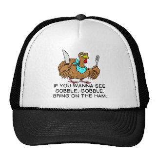IF YOU WANNA SEE GOGGLE...BRING ON THE HAM TRUCKER HAT