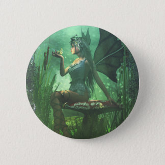 If you want to meet a handsome prince... 2 inch round button
