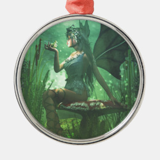 If you want to meet a handsome prince... metal ornament