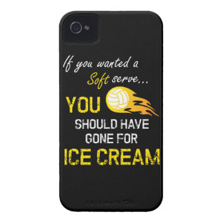 If You Wanted A Soft Serve Ice Cream - Volleyball iPhone 4 Case-Mate Cases