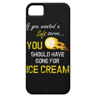 If You Wanted A Soft Serve Ice Cream - Volleyball iPhone 5 Cover