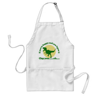 If youre happy and you know it apron