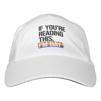 If you're reading this, I'm gay - - LGBTQ Rights - Hat