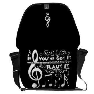 If You've Got It - Flaut It Large Messenger Bag