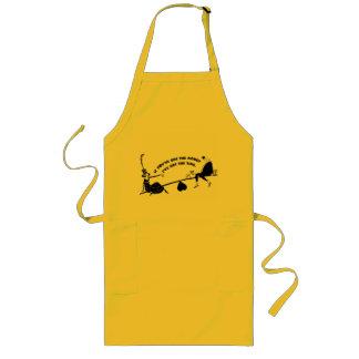If you've got the money... long apron