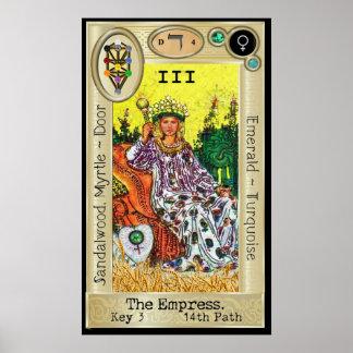 Ifdawn Deepdream Tarot Key 3 ~ The Empress Poster