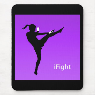 iFight girl mousepad