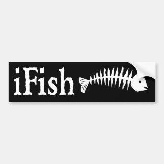iFish Bumper Sticker