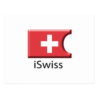 iFlag Switzerland Postcard