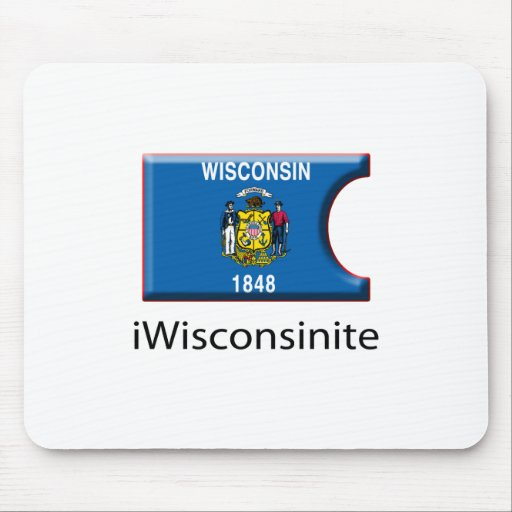 iFlag Wisconsin Mouse Pads