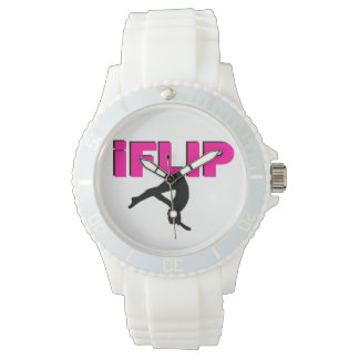 IFlip gymnastics Women's Sporty Silicon Watch