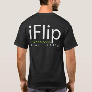 iFlip. I flip real estate. Business Promo T-Shirt