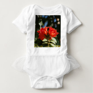 iFlowers of an African tuliptree Baby Bodysuit