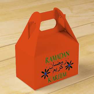 Iftar Ramadan kareem Party Favor Boxes