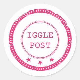 Iggle Post Stickers