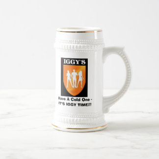 Iggy'sLogo, Have A Cold One -IT Beer Stein