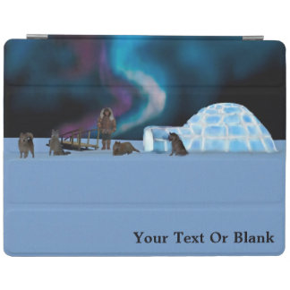 Igloo and Northern Lights iPad Cover