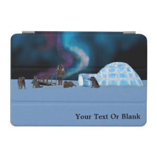 Igloo and Northern Lights iPad Mini Cover