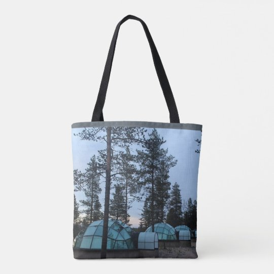 Igloos Ready for Winter, All-Over-Print Tote Bag