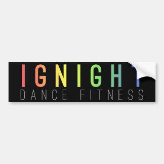 Ignight Dance Fitness Bumper Sticker
