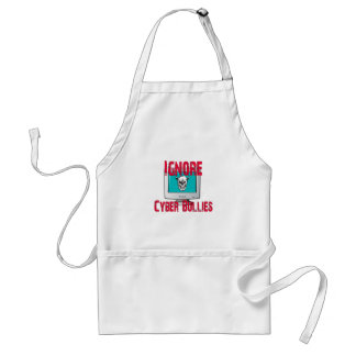 Ignore Cyber Bullies Standard Apron