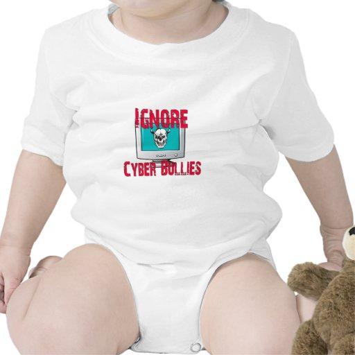 Ignore Cyber Bullies Tshirts