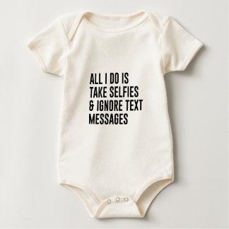 Ignore Texts Baby Bodysuit