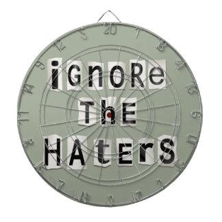 Ignore the haters. dartboard