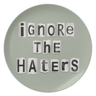 Ignore the haters. dinner plates