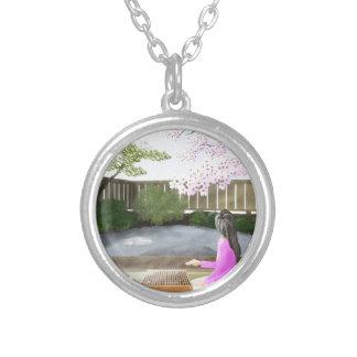 igo silver plated necklace
