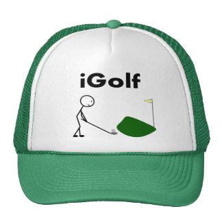 iGOLF Stick People Trucker Hats
