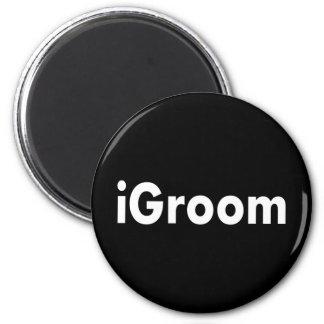 iGroom 2 Inch Round Magnet