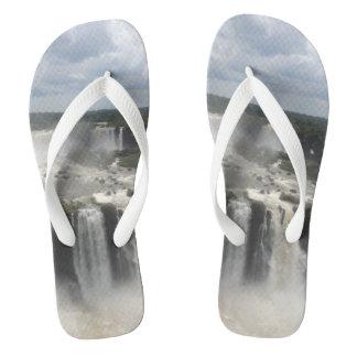 Iguaçu Falls Flip Flops