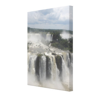 Iguaçu Falls Landscape Photography Canvas Print
