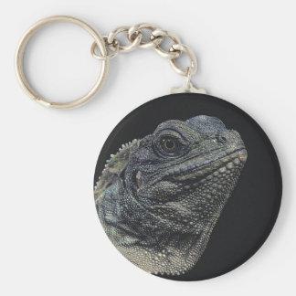 Iguana Close-Up Keychain