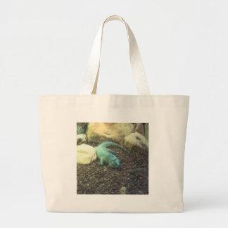 Iguana Dracon Large Tote Bag