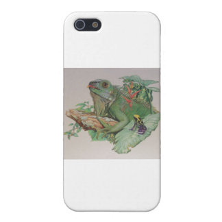 Iguana/Frog looking on iPhone 5/5S Cases