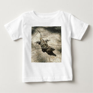 Iguana , Giant Lizard in Mexico Baby T-Shirt