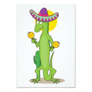 Iguana In A Sombrero Invitations