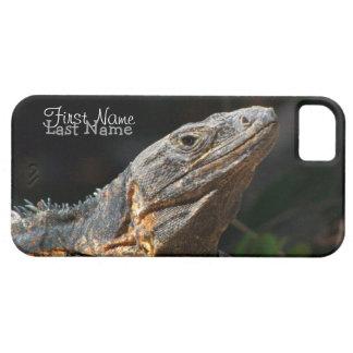 Iguana in the Sun; Customizable iPhone 5 Case