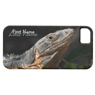 Iguana in the Sun iPhone 5 Covers