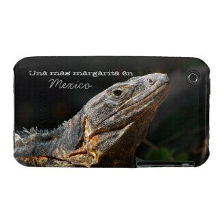 Iguana in the Sun; Mexico Souvenir Case-Mate iPhone 3 Case
