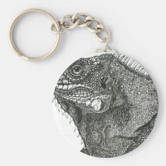 Iguana Keychain