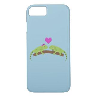 Iguana Love iPhone 7 Case