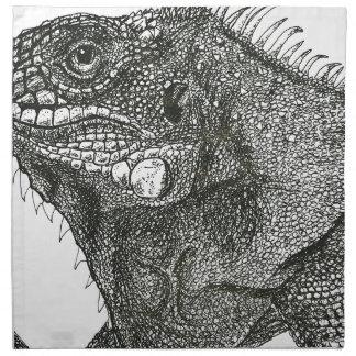 Iguana Napkin