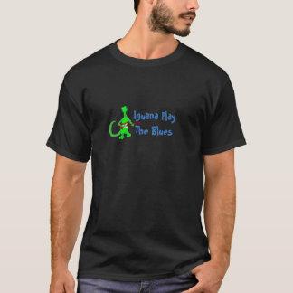 Iguana Play The Blues Tshirt