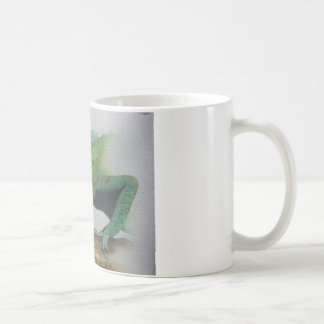 Iguana Portrait Coffee Mug