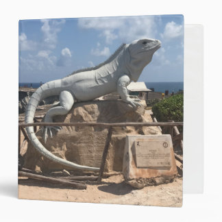 Iguana Sculpture Isla Mujeres, Mexico Binder