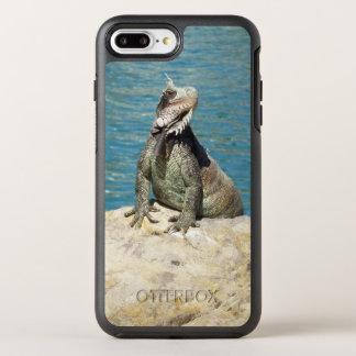 Iguana Tropical Wildlife OtterBox Symmetry iPhone 7 Plus Case