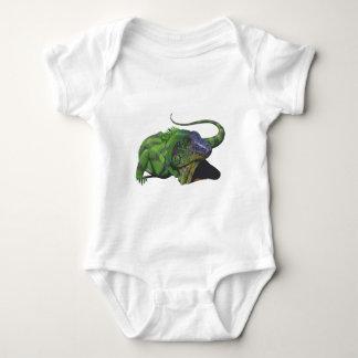 iguana zazzle 2 baby bodysuit